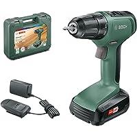 Bosch Home and Garden 06039C8004 Atornillador UniversalDrill 18 (1 batería, Sistema de 18 V, en…
