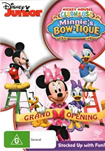 Mickey Mouse Clubhouse - Minnie's Bow-Tique (DVD)