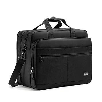 Amazon.com: Bolso bandolera para portátil de 17 a 18,5 ...