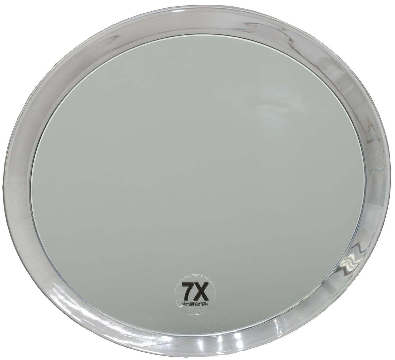 Fantasia - Miroir grossissant (x 7) - 3 ventouses - Plastique - ø 23 cm 1357