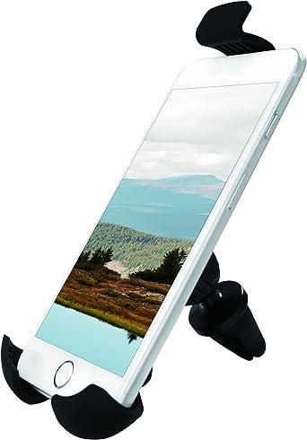 Logilink Aa0112 Smartphone Halter Für Kfz Lüftungsschacht 10 16 15 24 Cm 4 6 Zoll Elektronik