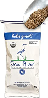 product image for Great River Organic Milling, Whole Grain, Hard Red Spring Wheat, Organic, 50-Pounds (Pack of 1)