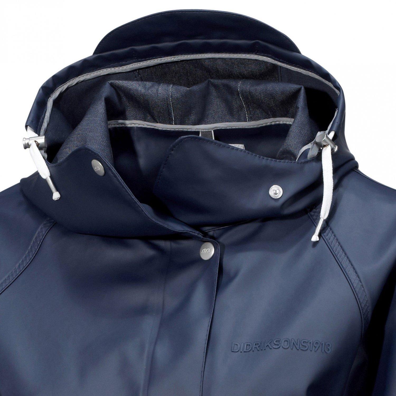Didriksons Hedvig Women s Coat, Größe Bekleidung NR 44, Farbe Navy  Amazon. de  Bekleidung 9d169777a9