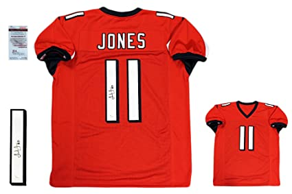a4f410c94 Julio Jones Autographed SIGNED Jersey - JSA Witnessed Authenticated ...