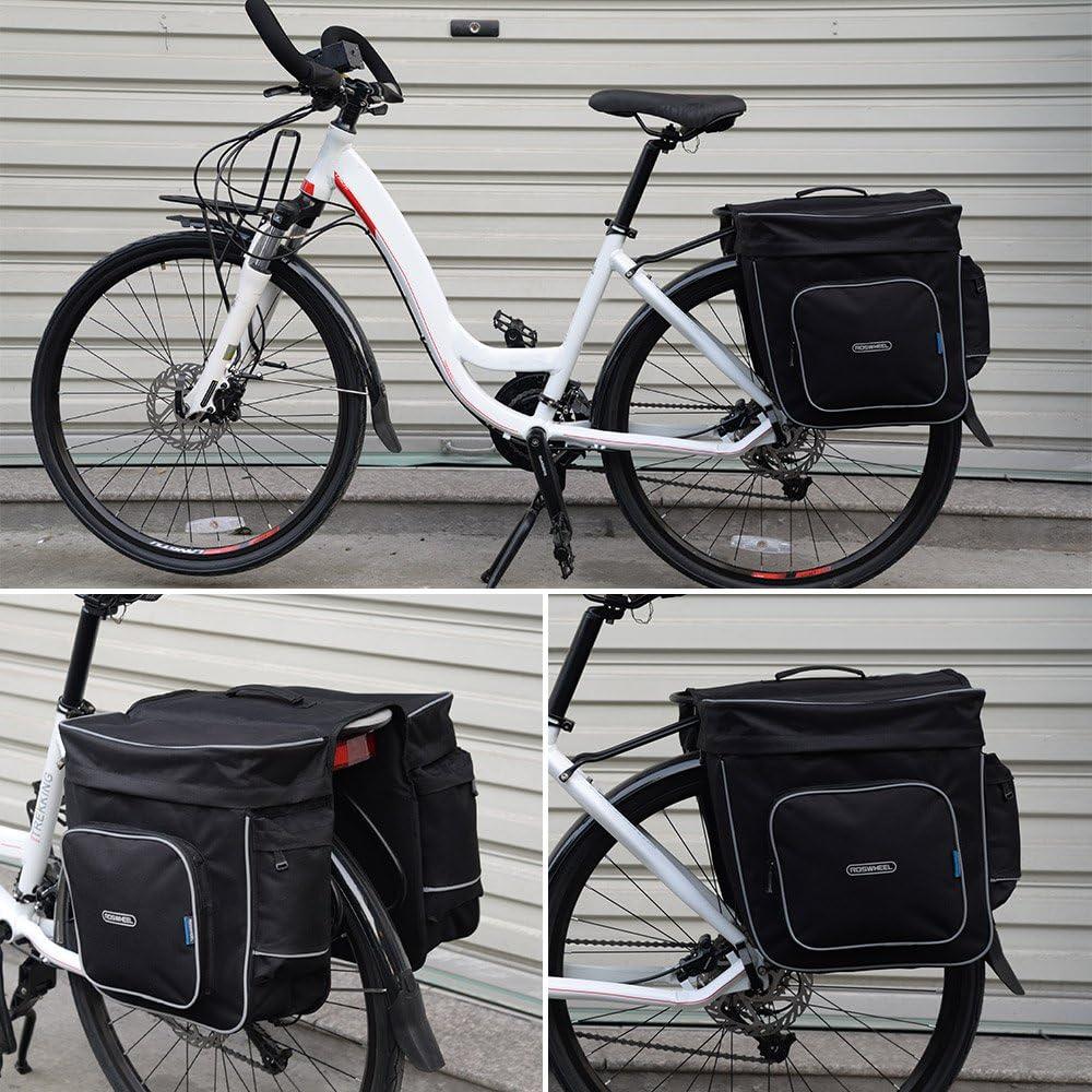 Docooler 30L Posterior de la Bicicleta del Lado del Doble del ...