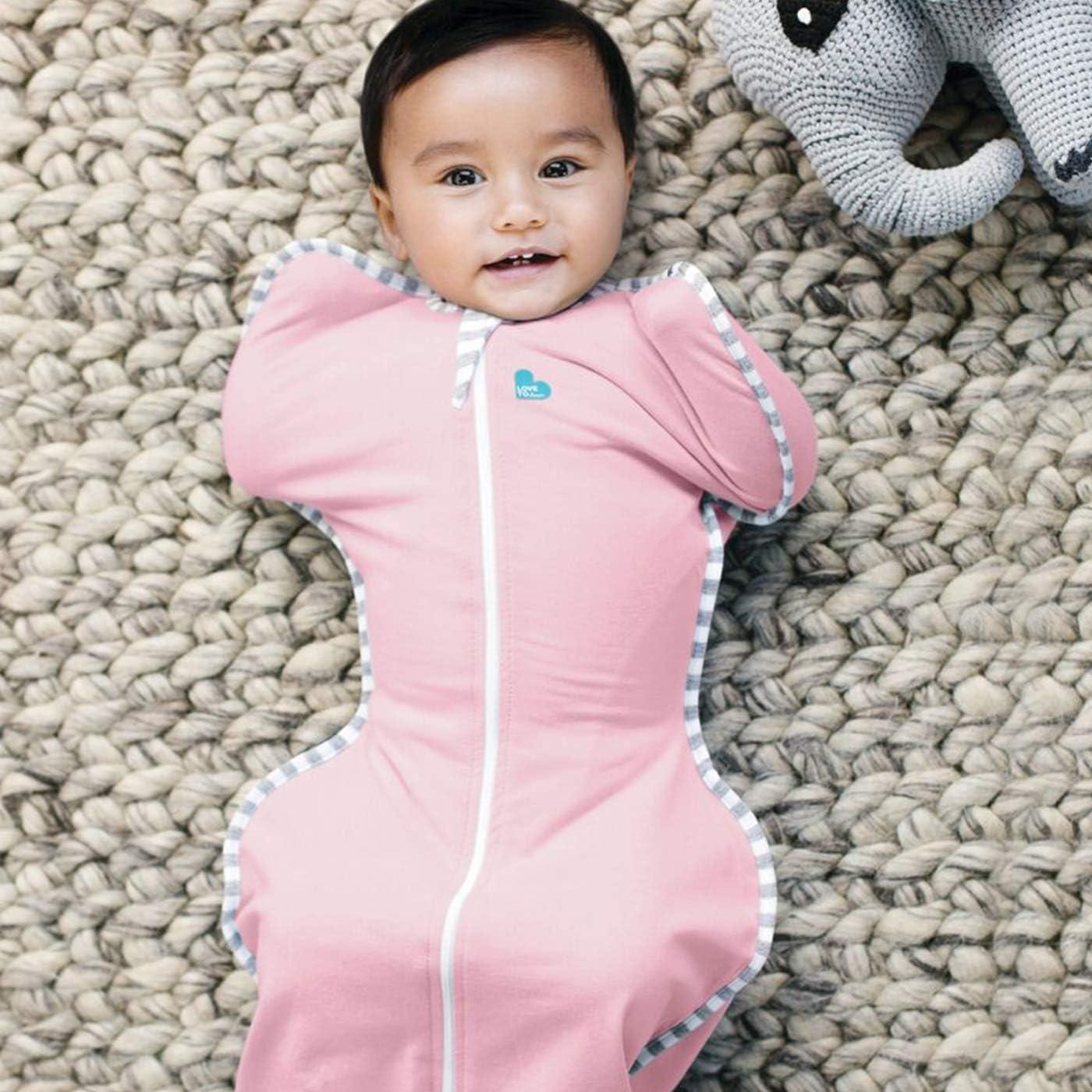 Newborn 2.2kg-3.8kg Swaddle Blanket 1.0 TOG Love To Dream Swaddle UP Original White