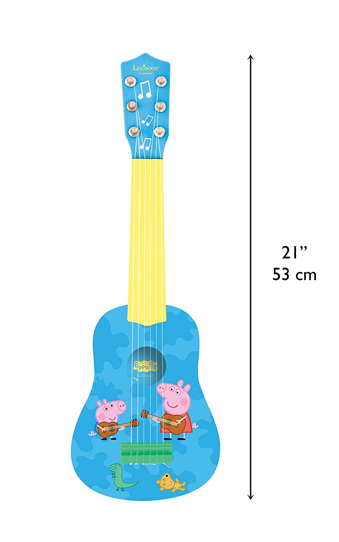 6 Cuerdas Juguete ni/ñas a Partir de 3 a/ños lexibook k200des1 Gru: Mi Villano Favorito Blandito el Unicornio de los Minions Color Blanco mi Primera Guitarra 53 cm de Largo GRU