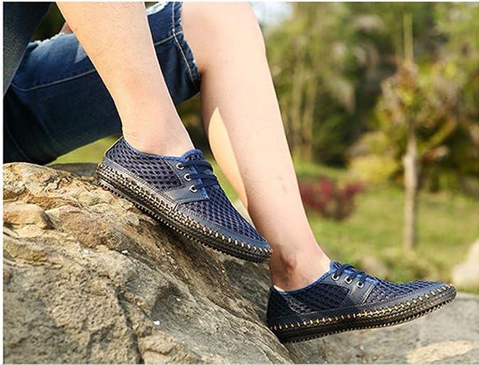 keephen Mocassins de Marche Respirant en Maille d été des Hommes, Chaussures  d extérieur  Amazon.fr  Chaussures et Sacs f446d72a6251