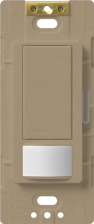 Lutron MS-VPS2-BR Maestro Single Pole Vacancy Sensing Switch Brown 2-Amp