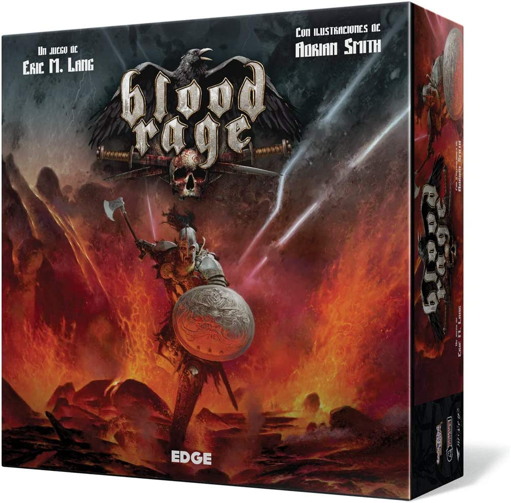 Blood Rage - Juego de mesa (Edge Entertainment EDGBLR01) , color/modelo surtido: Amazon.es: Juguetes y juegos