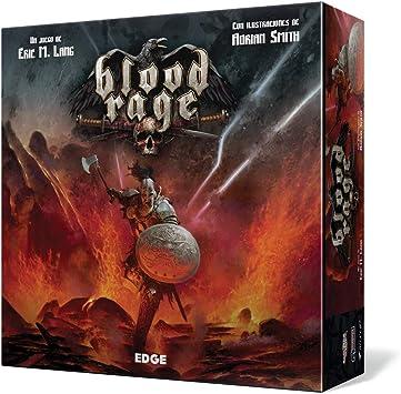 Blood Rage - Juego de mesa (Edge Entertainment EDGBLR01) , color/modelo surtido: Amazon.es: Juguetes y juegos