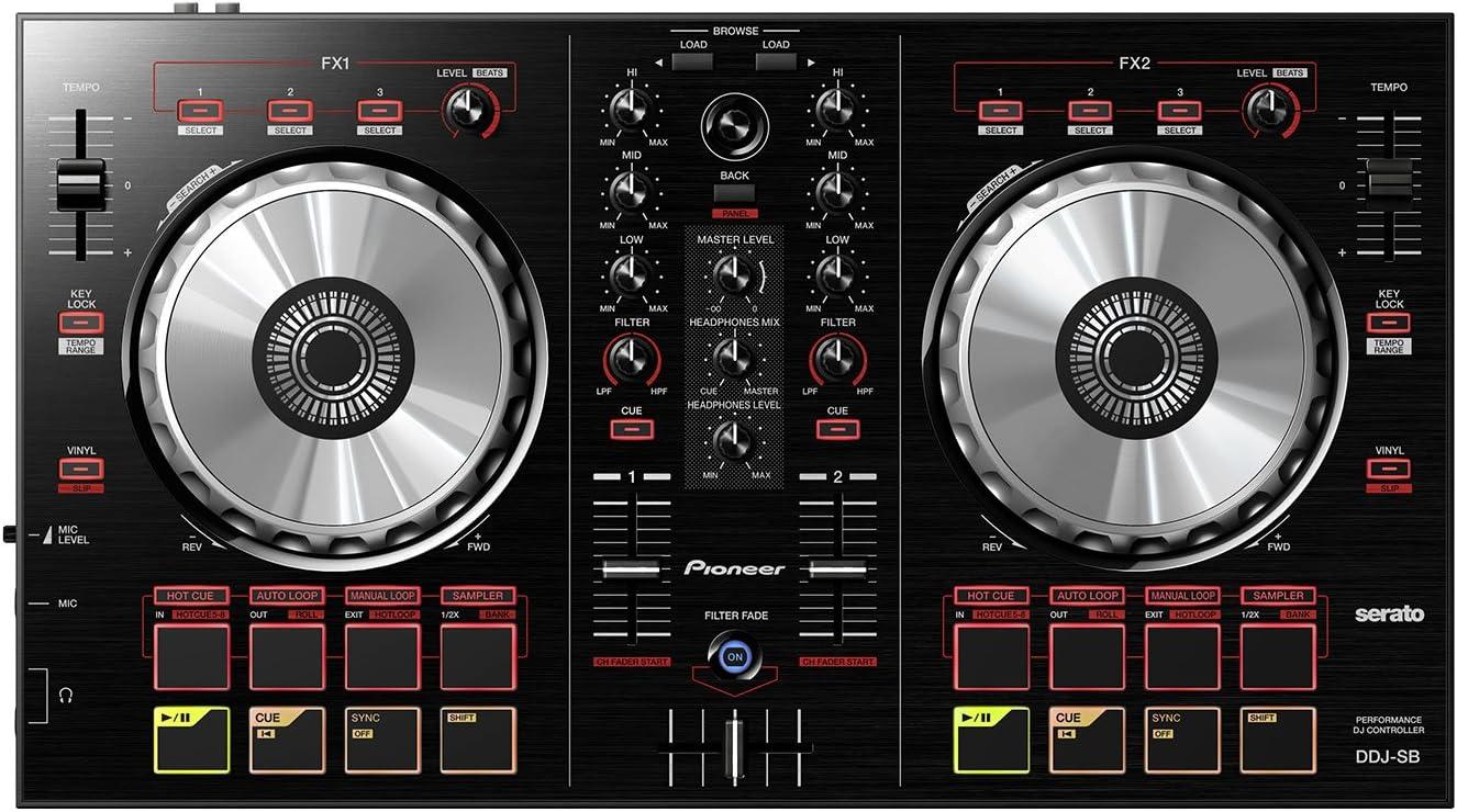 Serato DJ Intro DDJ-SB schwarz incl