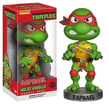 Funko - Wacky Wobbler - TMNT - Raphael: Funko Wacky Wobbler ...