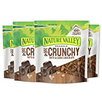 Deals on 4-Ct Nature Valley Granola Crunchy Oats and Dark Chocolate 16 oz