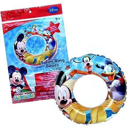 Amazon.com: Niños Piscina Inflable Swim Ring con oficial ...