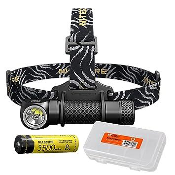 NITECORE HC33 1800 Lumens High Performance Headlamp 3500mAh 8A 18650 Battery