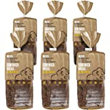 Gluten Free Bread, 100% Paleo Certified, 18 Slices Per Loaf, 5g of Protein per Slice, Grain Free and Perfect for Sandwiches, Crafted by Base Culture (6 Count)