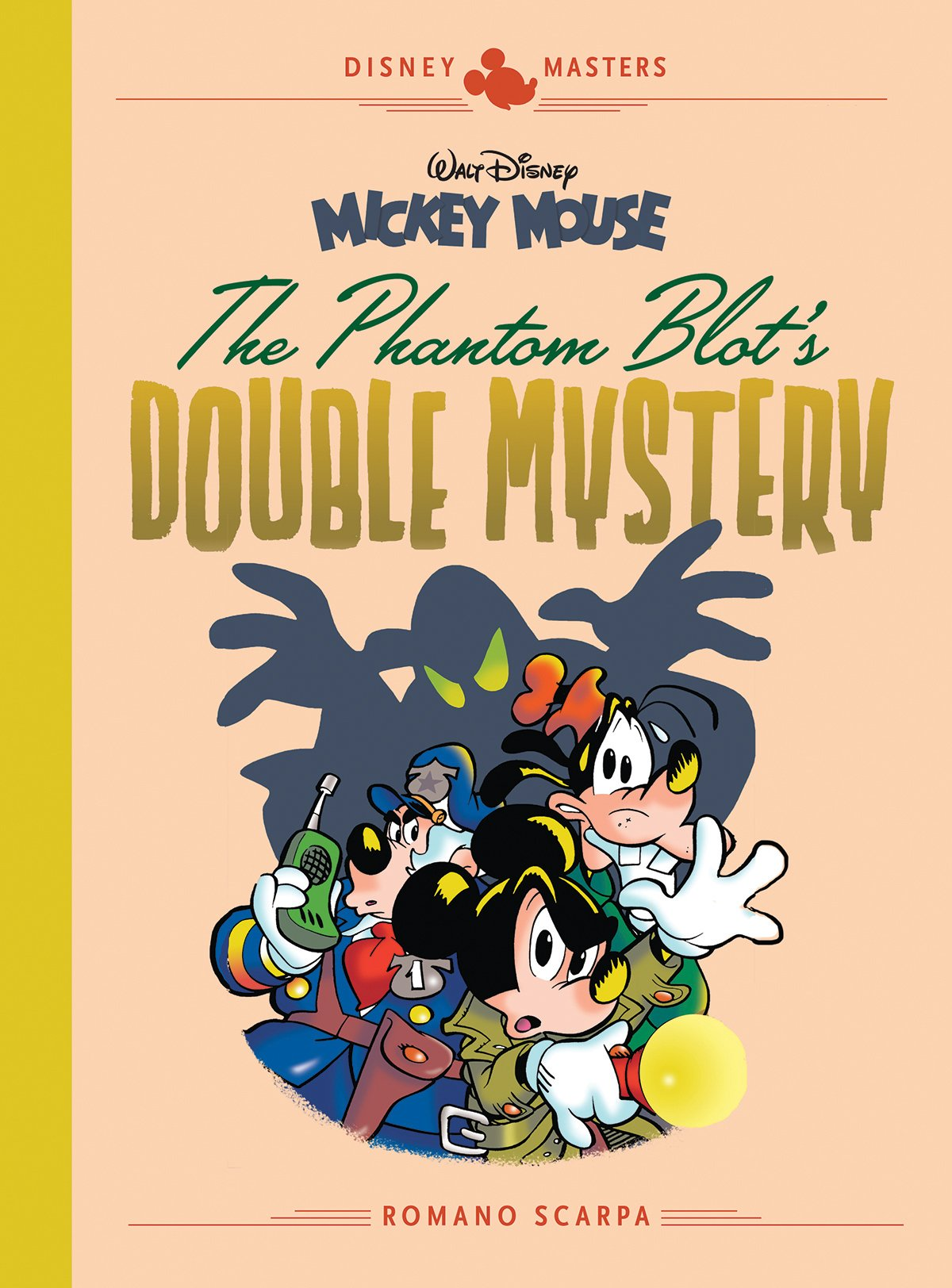 afd8c0269 5: Romano Scarpa: Walt Disney's Mickey Mouse: The Phantom Blot's Double  Mystery (The Disney Masters Collection) Hardcover – October 9, 2018