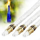 Tiki Torch Kit Fibreglass Wicks Lamp Oil Amazon Co Uk