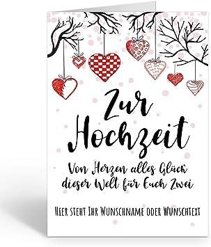 Hochzeitskarte Glueckwuensche Zur Hochzeit Kurz