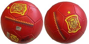 FEF Balón Selección Española de fútbol Grande Talla 5: Amazon.es ...