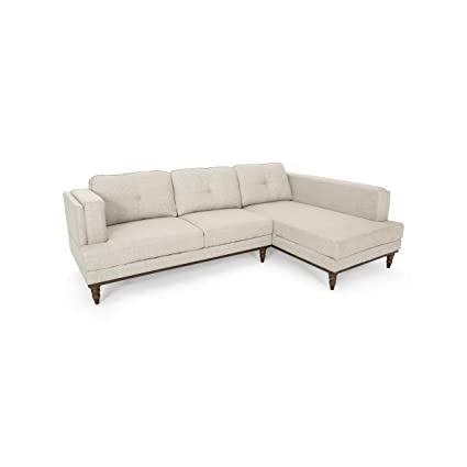 Amazon.com: Gabe Chaise Sectional Couch Set with Chaise ...