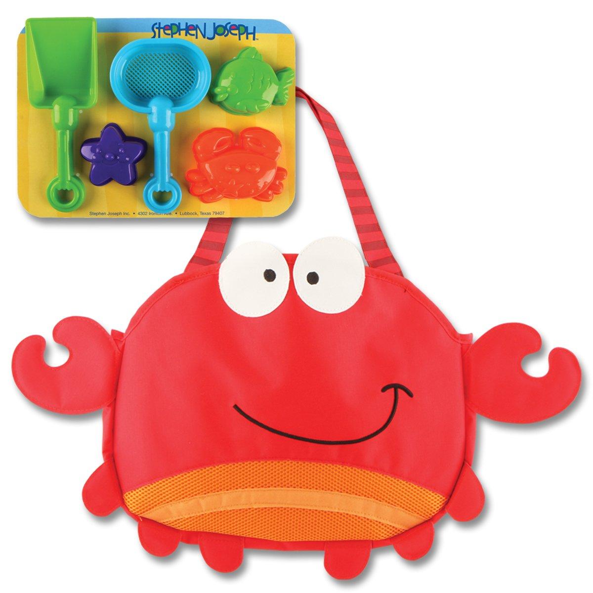 Amazon.com: Stephen Joseph Beach Tote, Shark: Varios: Toys & Games