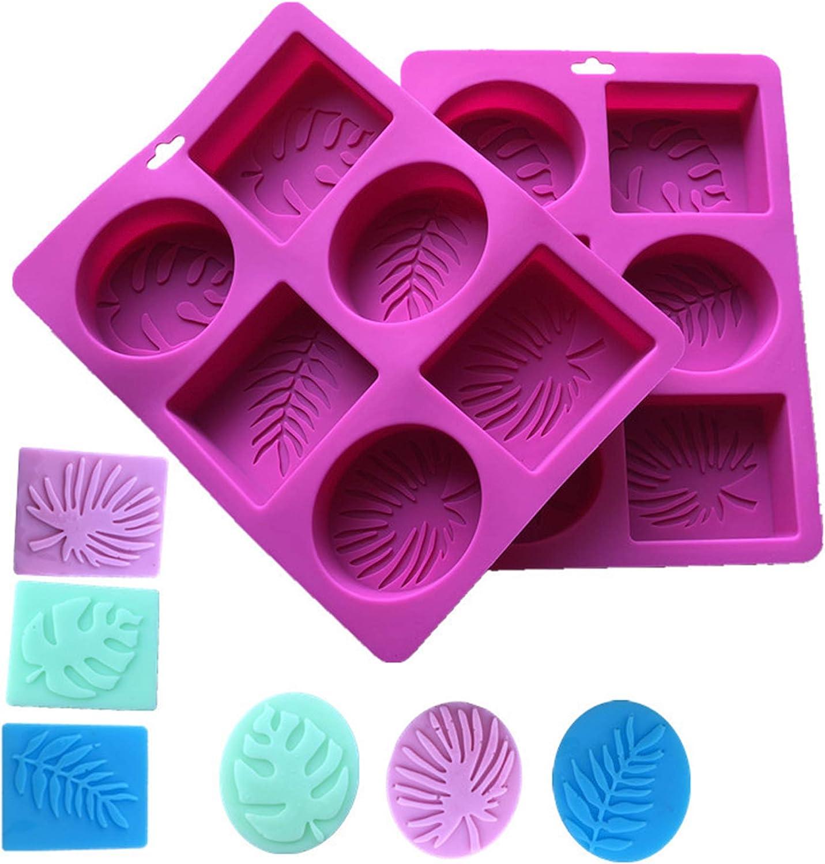 Brot 2 St/ück Keks 6 Hohlraum Silikon Rechteckform f/ür Kuchen S/ü/ßigkeiten Seifenform Schokolade Machen Sie Ihre eigene hausgemachte Seife