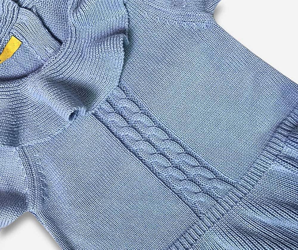 ZPW Little Girls Doll Collar Pullover Knit Sweater Dress