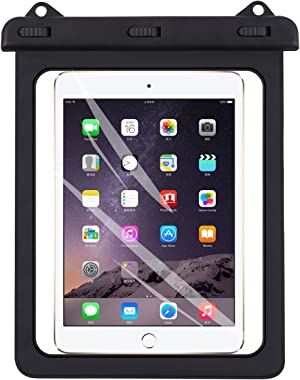 Universal iPad Waterproof Case, AICase Dry Bag Pouch for iPad Pro 10.5, New iPad 9.7 2017/2018, iPad Pro 9.7, iPad Air/Air 2, Tablets up to 11.5 Inch (Black)
