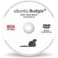 Ubuntu BUDGIE 18.04 Live - 32 & 64 bits - DVD