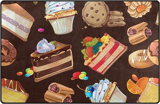 U Vie mignon Dessin animé Candy Dessert gâteau au chocolat ...
