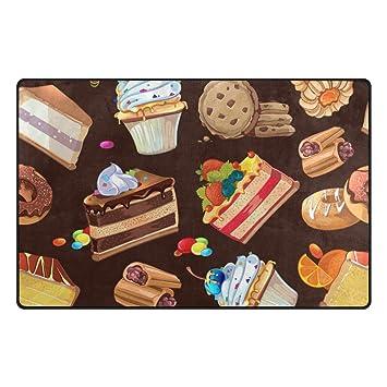 U Vie mignon Dessin animé Candy Dessert gâteau au chocolat Grande ...