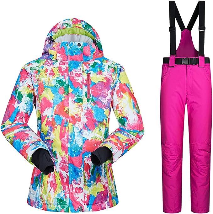 LEIT Traje de esquí Traje de Mujer Tablero Simple y Doble ...
