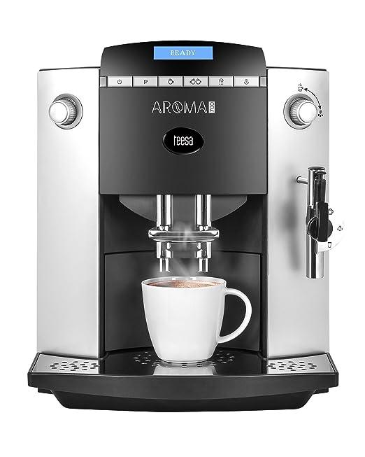 Teesa Aroma 700 - Cafetera automática con molinillo, 1.9 L ...