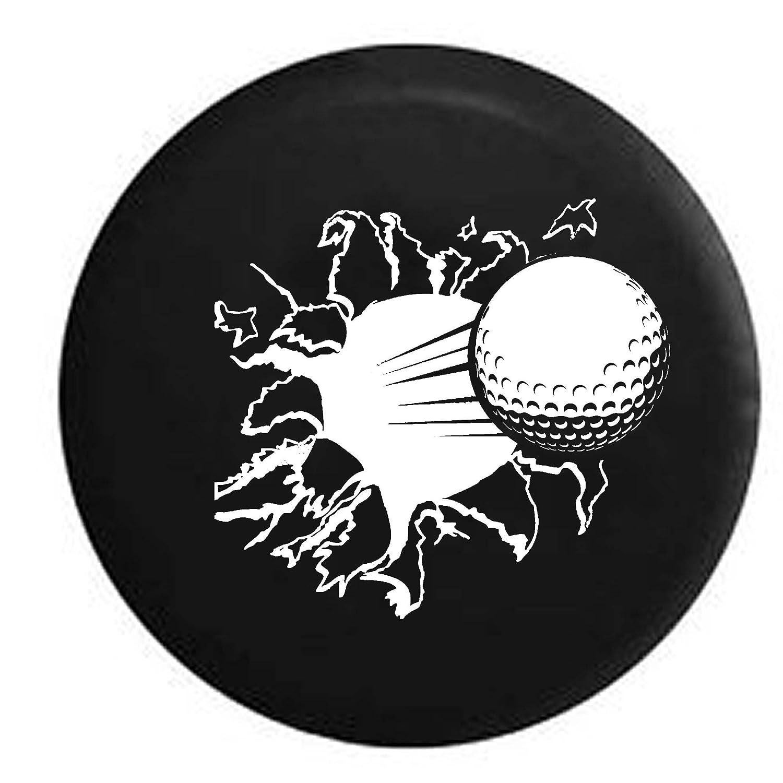 PIKEゴルフボールRipping ThroughトレーラーRVスペアタイヤカバーOEMビニール 29
