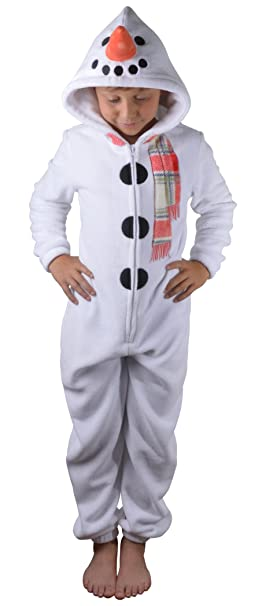 9e9c7f90c4f6 Loungeable Kids Fleece Chistmas Onesies or Robe  Amazon.co.uk  Clothing