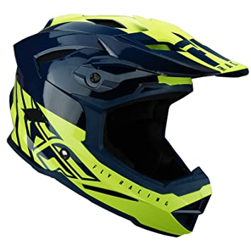 Fly 2019 Bike Default MTB - Casco para adulto, color verde y amarillo, color