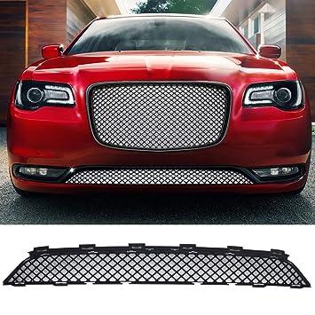 2015 - 2017 Chrysler 300 300 C Bentley - estilo delantero inferior rejilla de parrilla, color negro: Amazon.es: Coche y moto