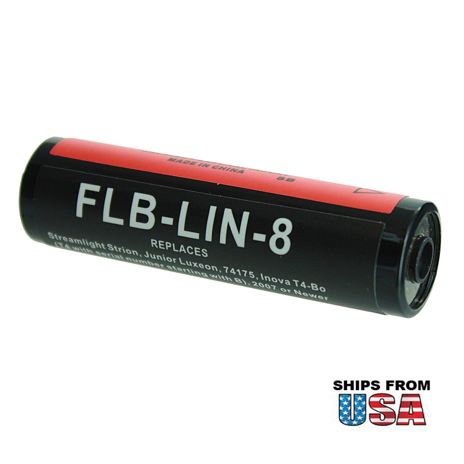 Exell Flashlight Battery 3.75V 2200mAh Li-Ion Fits Streamlight Strion USA SHIP