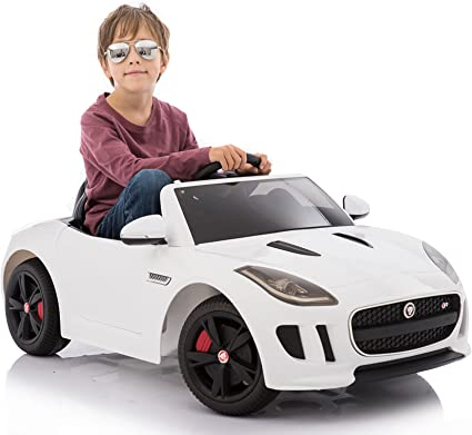 12V Electric Power Kids Ride On Car Toy Children Gift with Remote Control White