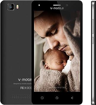 Movil Barato 4G, VMOBILE A10 Smartphone de 5 Pulgadas 8GB Memoria Dual Sim Moviles Libres Baratos Android 7,0 5MP Cámara 2800mAh Batería WiFi GPS: Amazon.es: Electrónica