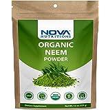 Nova Nutritions Certified Organic Neem Leaf Powder 16 OZ (454 gm) - Also Called Azadirachta Indica
