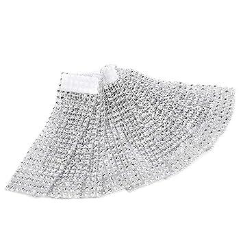 50 pieza brillantes servilleteros Servilletero aqyaa03000 banda servilleta cadena Servilletero con HOOk&LOOP mesa decoración para hochziet