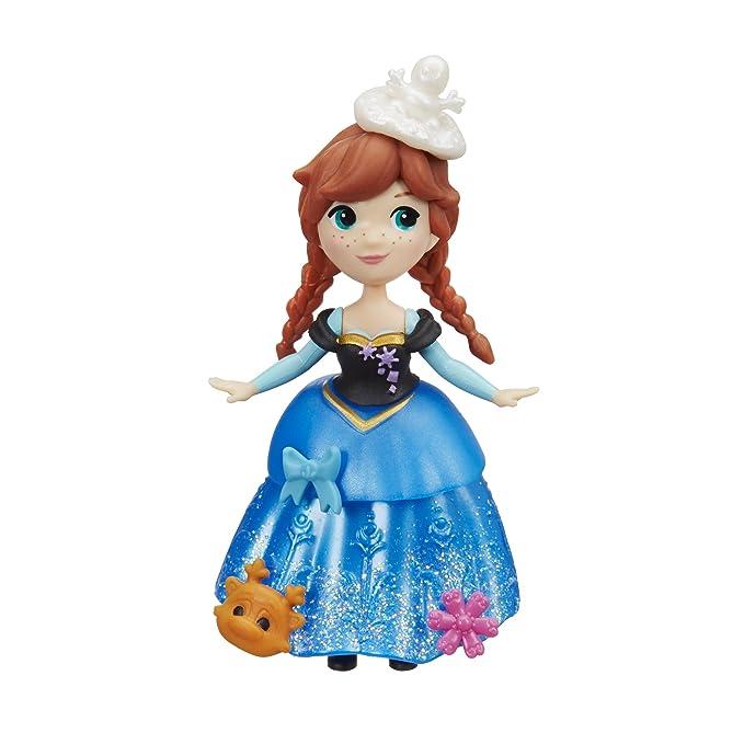 Amazon.com: Disney Frozen Little Kingdom Anna Muñeca: Toys ...