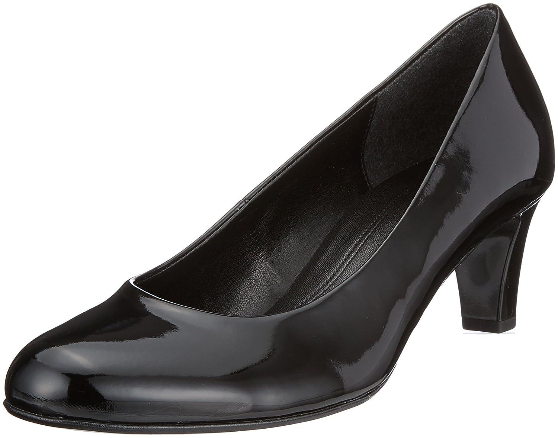 Gabor 85.200 Womens Smart Court Shoes 38 EU|Negro (Schwarz)