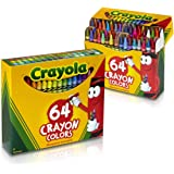 Crayola 760488360385, 64 Ct Crayons (Pack of 2)