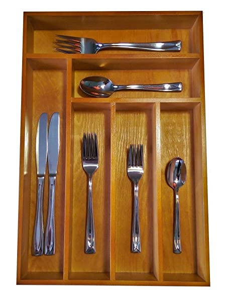 Amazon drawer organizer this durable wood cutlery tray is drawer organizer this durable wood cutlery tray is large enough for your silverware utensils workwithnaturefo