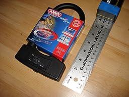 abus locks u 64 mini futura bike lock chain bike locks sports outdoors. Black Bedroom Furniture Sets. Home Design Ideas