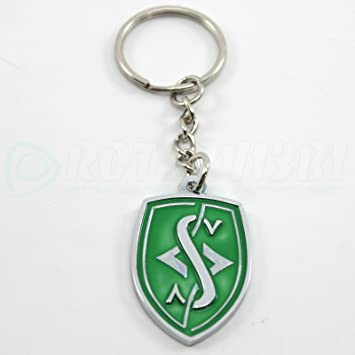 Amazon.com: Silvia logotipo – Llavero – Verde Por rotary13b1 ...